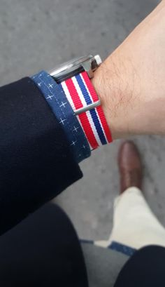 Fabric Nato strap Available in / This Natostrap and further 65 styles can also be purchased in our store in Zurich. The NATO-strap was first presented to the. Swiss Made Watches, Nato Strap, Union Jack, Zurich, James Bond, Cufflinks, Wedding Cufflinks