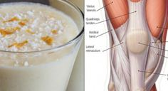 Smoothie for Stronger Knee Ligaments and Ache-free Joints.Smoothie for Stronger Knee Ligaments and Ache-free Joints.Smoothie for Stronger Knee. Oat Smoothie, Smoothie Recipes, Healthy Drinks, Healthy Recipes, Healthy Food, Detox Drinks, Delicious Recipes, Ligaments And Tendons, Pineapple Drinks