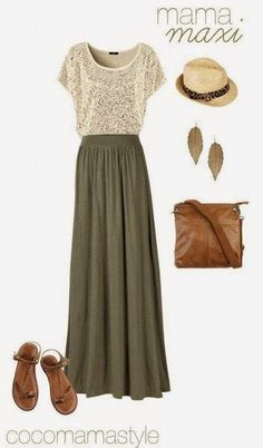 Lovely Dress, Beautiful Hat, Leaf Form Earrings, Medium, Brown Hand Bag And Brown Sandal. | Street Fashion