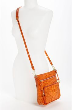Brahmin Handbags, Nordstrom Beauty, Orange, Leather Satchel, Looking For Women, Different Styles, Bucket Bag, Crossbody Bag, Shoulder Bag