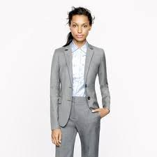 Grey is one a few colors that are always appropriate to wear for professional attire  #standout