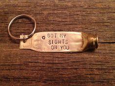 Custom Bullet Keychain by LittlenLovelyDesigns on Etsy