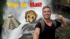 Trip to Bali!   Vlog# Monkey stole my BANANAS! (Ubud,Temples, Waterfall,...