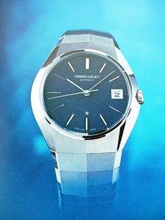グランドセイコーV.F.Aの・・・ 当時のセイコー時計カタログの中の写真です。 グランドセイコーといえば セイコーの時計の中では... Seiko, Omega Watch, Watches, Silver, Accessories, Products, Wristwatches, Clocks, Gadget