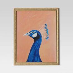 """24""""x30"""" Peacock Framed Wall Canvas - Opalhouse™ : Target"""