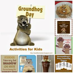 Some of the Best Things in Life are Mistakes: Groundhog Day Activities
