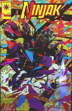 Ninjak by Joe Quesada