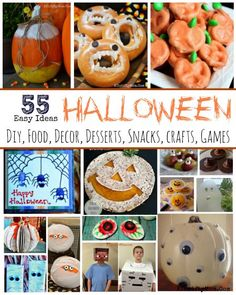 Halloween ideas made EASY, Halloween crafts recipes decor and more all SUPER EASY, SImple Halloween party ideas, Healthy Halloween recipes,