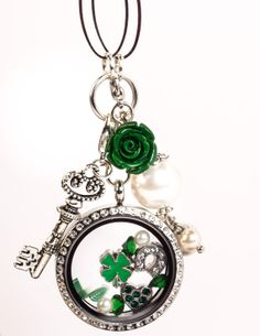 St. Patrick's Day Floating Locket!