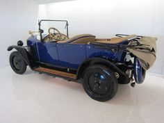 Peugeot - 177 B Torpedo Cabriolet - 1924 Peugeot, Convertible, Top, Shirts, Blouses