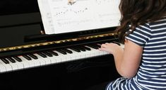 A friend asked me recently- Is 5 years old too young for a child to start learning piano? My friend is also a piano teacher and had just been asked to teach a child of this age.In this article I… Piano Lessons For Kids, Music Lessons, Kids Piano, Jouer Du Piano, Dear Mom And Dad, Best Piano, Listening Skills, Music Class, Music School