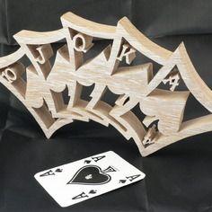 Флеш-рояль деревянная резная дубовая