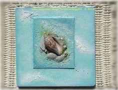 Memories of the Ocean Original Mixed Media Art by TerraCollageArt