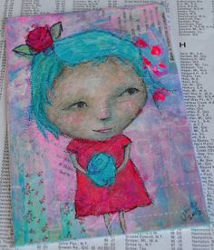 Art Gems in Small Format by Cynthia Haase on Etsy - click through for Small Format Art (SFA).