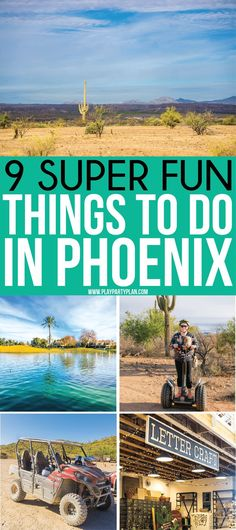 The best things to do in Phoenix Arizona Great restaurants to try, nightlife to experience, must-see attractions, and of course things to do with kids! The ultimate resource for someone looking for what to do in Phoenix! Phoenix Things To Do, Phoenix With Kids, Cheap Places To Travel, Cool Places To Visit, Travel With Kids, Family Travel, Family Trips, Arizona Road Trip, Travel To Arizona