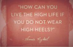 That's is the truth !! Viva la heels!!
