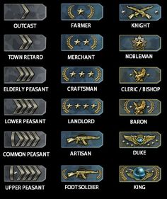 CS:GO Medieval Hierarchy, the update deranked me to silver elite master... Pesky valve messing with our ranks