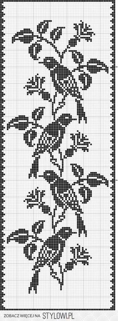 Could be a nice table runner. Start the pattern in both ends, maybe a simple border, all one colour.