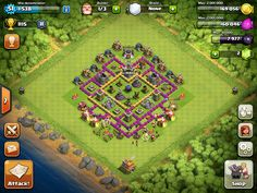 Farming base for town hall 7 users.