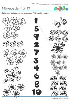 1000 images about numeros on pinterest number games number worksheets and in spanish. Black Bedroom Furniture Sets. Home Design Ideas