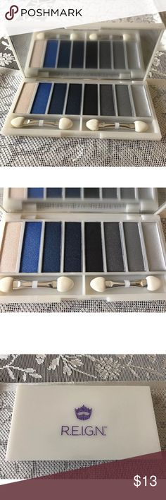R.E.I.G.N. Shadow Palette  NWT Smokey Eye Blue Brand:R.E.I.G.N.  SHADOW PALETTE  SMOKEY EYE  BLUES GRAYS  10.8 G Thank You for watching  my list. Please visit my store to find many more nice items for Men,Women and Kids R.E.I.G.N. Makeup Eyeshadow