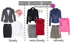 Typické prvky formálneho biznis oblečenia