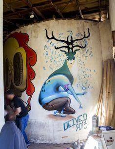 Deived, awesome urban art, best street artists, graffiti art, free walls, urban artists