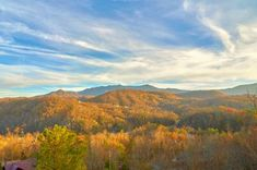 Fall Color Discounts up to Half-Price, thru Thanksgiving! Call anytime or click through for info on all the deals and to book online. Tennessee Gatlinburg, Tennessee Cabins, Tennessee Vacation, Pretty Pictures, Cool Photos, Places To Travel, Places To Go, Ocean Wallpaper, Autumn Scenery