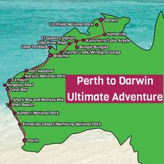 Looking for things to do in Perth? Visit Karijini Ningaloo Reef Monkey Mia The Kimberley The Gibb River Road El Questro and more on this tour. West Coast Australia, Australia Tours, Visit Australia, Western Australia, Australia Travel, Australia Holidays, Kalbarri National Park, Nambung National Park, Litchfield National Park