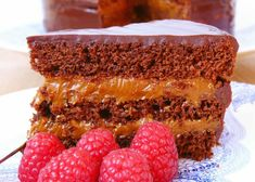Torta de Chocolate y naranja rellena de Dulce de Leche y Mascarpone Argentine Recipes, Cheesecake, Pan Dulce, Dessert Recipes, Desserts, Food And Drink, Sweet, Relleno, Queso