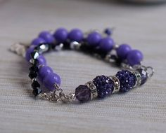 A personal favorite from my Etsy shop https://www.etsy.com/listing/278145608/crystal-elegant-braclet