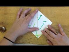 by far THE BEST Origami Flying Crane tutorial 5th Grade art teacher is a master at word pictures... where was she when I tried to figure this out from diagrams?? awe.some.