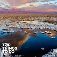 San Pedro de Atacama - Lo mejor para hacer en San Pedro de Atacama, lagunas en medio del desierto, grande salares en el altiplano y la majestuosidad del desierto de Atacama.