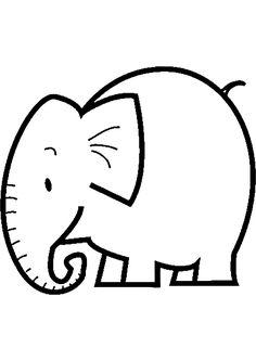 R sultat de recherche d 39 images pour l phant dessin - Comment dessiner un elephant facilement ...