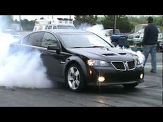 Pontiac G8 drag 11.57 vs newer Corvette