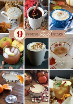 Autumn Chill Chai-Tea-Ni Martini {& 9 Festive Fall Drinks} - The Happy Housie