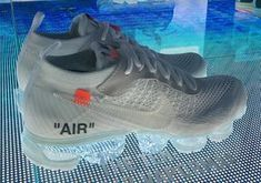 2018's Air Max Day is gearing up to be one of the most anticipated sneaker events of the year, as the Swoosh has a plethora of high profile releases planned. Photos from NikeLab in Shanghai recently surfaced, showing images of new OFF WHITE x Nike Vapormax colorways, the sequel to the illustrious atmos x Air … Nike Vapor, Sneaker Heels, Nike Shoes