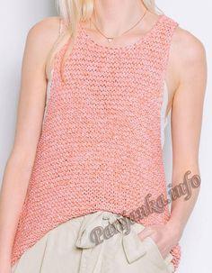 Топ (ж) 10*140 Phildar №5003 Boho Diy, Summer Skirts, Short Tops, Pulls, Short Skirts, Camisole Top, Shorts, Tank Tops, Knitting