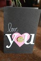 Valentine card idea for my husband.    A Project by aceason from our Cardmaking Gallery originally submitted 02/04/12 at 11:30 AM