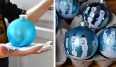 Enjoy these holiday crafts to make with your kids! (Plus, they make a great gift for grandparents)