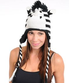 All the rage! Cozy winter hats in all sorts of animal designs!