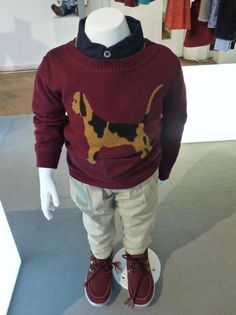 Intarsia knitwear for the boys at Marks and Spencer winter 2013