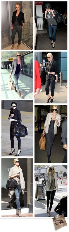 Charlize Theron, I love how she always completes her looks with the perfect jacket or blazer. I need more in my wardrobe now!!!