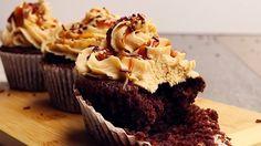 Erdnussbutter Cupcake