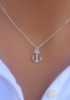 I found My Anchor necklace in STERLING SILVER. on Wish, check it out!