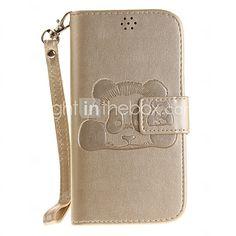For LG K10 LG K8 Card Holder Wallet Case Full Body Case 3D Cartoon Hard PU Leather  K7 LG G4 LG G3 - USD $7.99