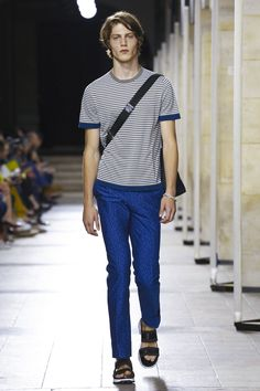Hermes Fashion Show Menswear Collection Spring Summer 2017 in Paris