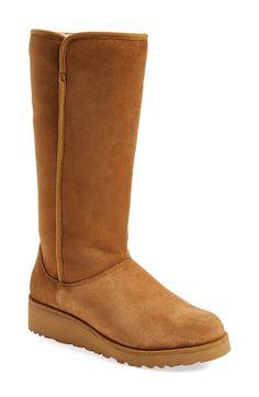 UGG® Australia 'Kara - Classic Slim™' Water Resistant Tall (Boot (Women) Size 6