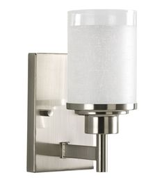 Progress Lighting Alexa 1 Light Bath Vanity in Brushed Nickel P2959-09 #lightingnewyork #lny #lighting