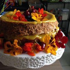 Naked Cake: Bolo de Nozes com Baba de Moça | Luiza Zaidan